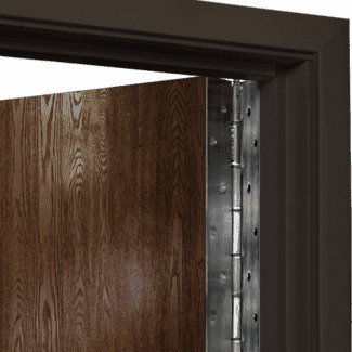 continuous door hinge